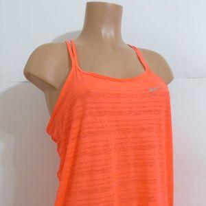 ⭐For Bundles Only⭐Nike Top Tank Sheer Neon Orange